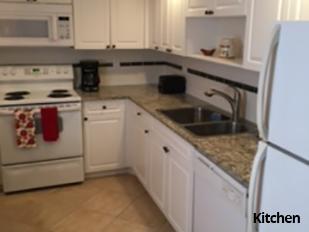 Palm Beach Condo Kitchen
